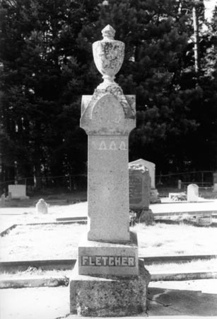 Fletcher tombstone