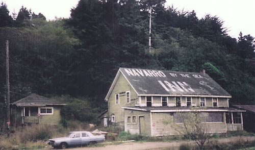 navarro by the sea inn, 1980s