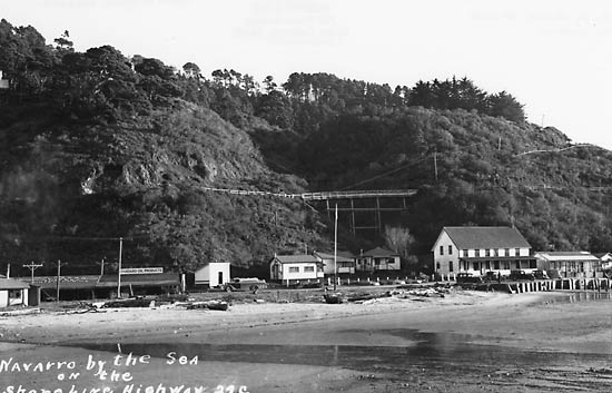 navarro by the sea inn ca.1938