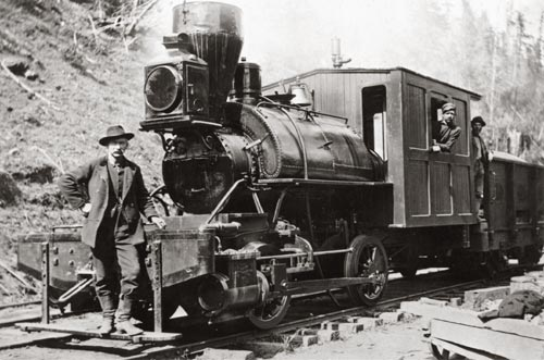 locomotive 0-4-0T 1890